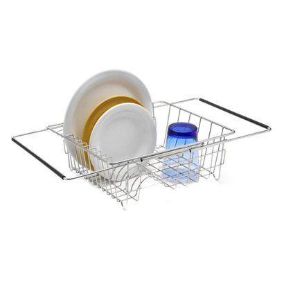 Polder Stainless Steel In-Sink Dish