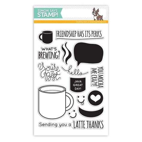Coffee Lovers~Rubber Stamp~coffee and friends are the perfect blend~coffee time~wood mounted rubber stamp~Mountainside Crafts 35-63