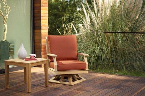 Espace patio »Mobilier de jardin en teck – Conseils d\'entretien pour ...