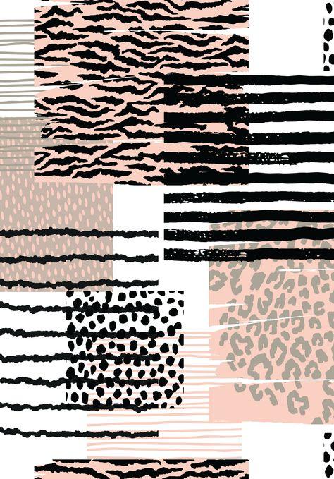 dieren behang print textuur; dierenprint afdrukken; luipaard; zebra;   - Patterns #achtergrond #telefoon #achtergrondpastel