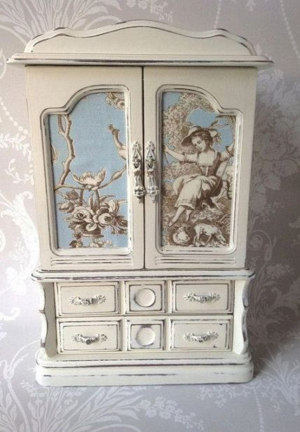 32 Super Ideas Jewerly Box Makeover Cabinets Jewelry Box