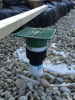 French Drain With Dry Well French Drain Dry Well Backyard Drainage
