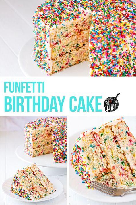 Terrific Funfetti Birthday Cake Recipe Amazing Chocolate Cake Recipe Funny Birthday Cards Online Alyptdamsfinfo