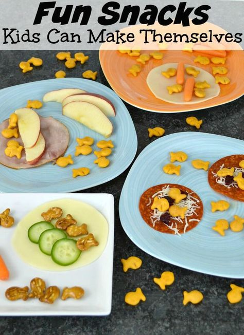Fun Snacks Kids Can Make Themselves
