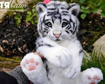 For Example For Order Medium Tiger Handmade Stuffed