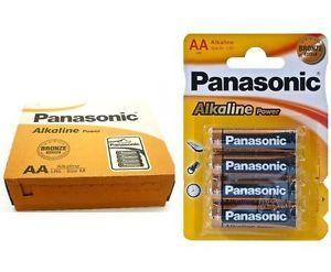 A 48 X Pilas Panasonic 15v Aaa Alcalinas Alkalinas Lr3 Lr03 Lr3t4b 12 Blister Alcalina