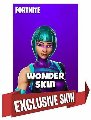 Wonder Skin Fortnite Bundle Code Outfit Honor 20 For All Platforms Fast Fortnite Game Nowplaying Fortnite Epic Games Wonder