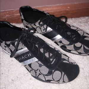 black Coach tennis shoes NWT | Tennis