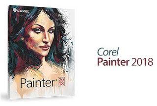 Corel Painter 2018 برنامج الرسم الرقمي Corel Painter Paint Software Painter