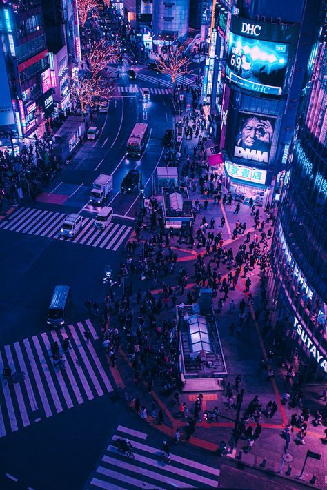 Aesthetic Japan, Night Aesthetic, City Aesthetic, Japanese Aesthetic, Aesthetic Images, Purple Aesthetic, Aesthetic Backgrounds, Aesthetic Wallpapers, Cyberpunk City