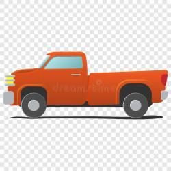 Cartoon Car Illustration Stock Pickup Clipart Transparent