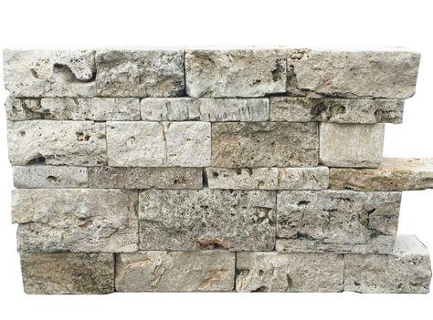 Travertin Rustic Mix Gartenmauer Rustikale Mauersteine mit großen - steine fur gartenmauer