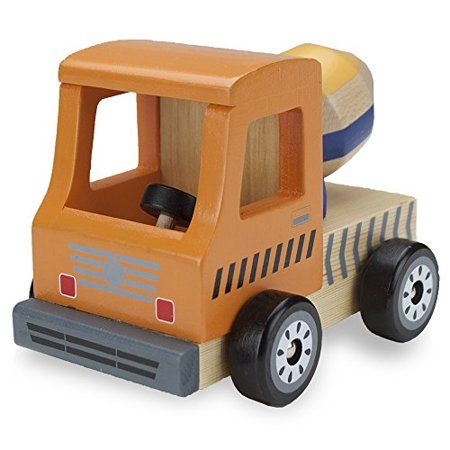 Wooden Wheels Natural Beech Wood Tractor by Imagination Generation