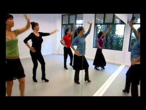 La Forma De Bailar Los Tangos Flamencos Youtube Baile Clases De Baile Tango