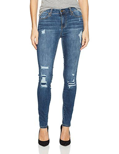 Liverpool Jeans Company Women's Abby Skinny Destruct in