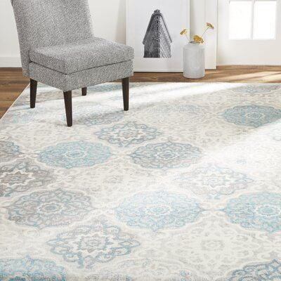Ophelia Co Kallie Quilted Gray Blue Area Rug Home Dynamix Bohemian Area Rugs Rugs In Living Room
