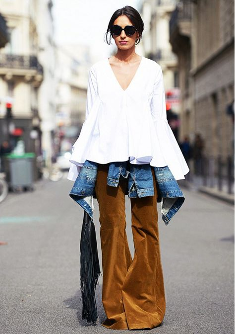 STREET STYLE // CORDUROY - GOLD COAST GIRL #fashion #corduroy #fallfashion