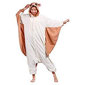 Maybear/® Combinaison Pyjama Enfant Adulte Costume danimal Cosplay Doux Chaud Onesie D/éguisement