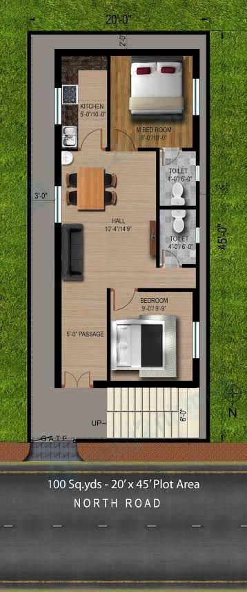 Image Result For House Plan 20 X 50 Sq Ft Small House Layout 20x30 House Plans House Plans