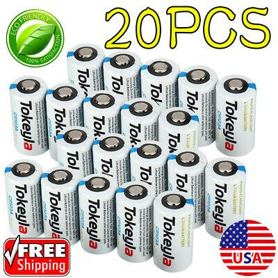 Ad Ebay Link Tokeyla 3v Cr123a 123 123a Cr17345 3 Volt Lithium Batteries For Camera 20 Pack In 2020 Toy Camera Lithium Battery Ebay