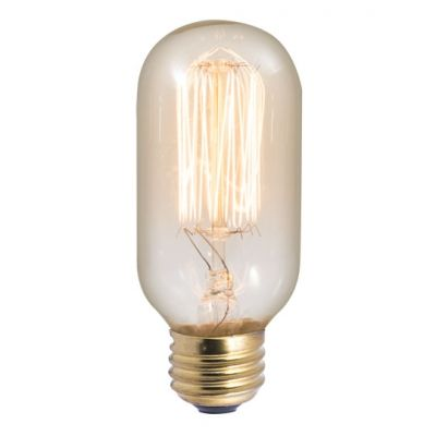 Lamp Parts Lighting Parts Chandelier Parts 40w Squirrel Cage Filament E 26 Base T 14 Antique Tubular Bulb Bueft14sq In 2020 Bulbrite Incandescent Filament Design