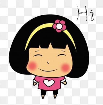 نسخة الكرتون س من الطفلة رسوم متحركة فتاة فتاة صغيرة تعبير مضحك فتاة صغيرة Png والمتجهات للتحميل مجانا Girl Cartoon Little Girl Cartoon Cartoon