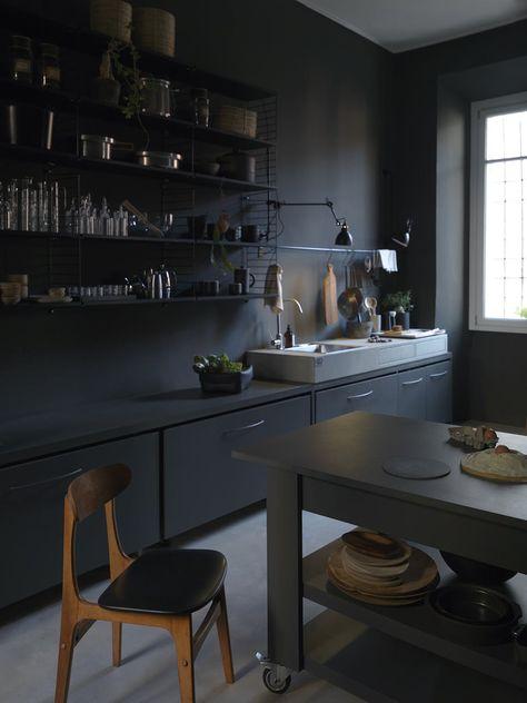 Vague gr ge sur les nouveaut s de design scandinave - Refaire sa cuisine rustique en moderne ...