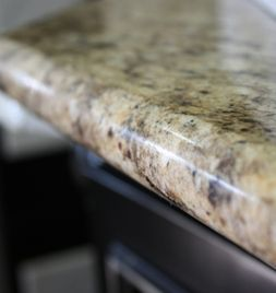 Image Detail For  Half Bullnose Edge But Most Clients Will Choose The Demi  Over The Half ... | Kitchen Inspiration | Pinterest | Countertop
