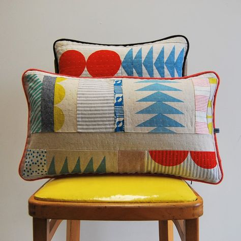 Meet the Mollie Makes Handmade Awards 2017 shortlist - Mollie Makes Patchwork Quilting, Patchwork Cushion, Hand Quilting, Quilts, Textiles, Soft Furnishings, Cushion Covers, Quilting Designs, Printing On Fabric