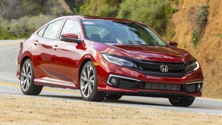Honda Civic Sedan Loses Manual Transmission For 2021 Honda Civic Civic Sedan Honda Civic Sport