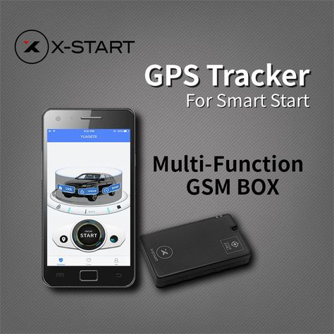 x-start OTU Mini GPS Tracker Vehicle Tracking System for remote