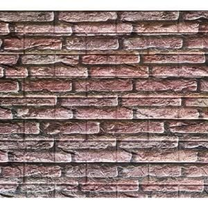 Dundee Deco Falkirk Jura 3 10 In X 28 In X 30 In Rouge Rose Faux Bricks Pe Foam Peel And Stick Wall Panel 10 Pack Pj2006 10 The Home Depot In 2020 Vinyl Wall Panels