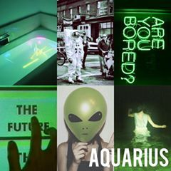 Baddie Aquarius Aesthetic Aquariusbaby Aquariusgang Moonchild Neonsigns Greentumblr Greenaesthetic Witchygi Aquarius Aesthetic Zodiac Memes Neon Signs