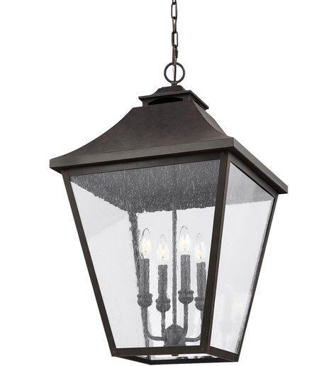Feiss Ol14409sbl Galena Sable 29 25 Inch 4 Light Outdoor Hanging