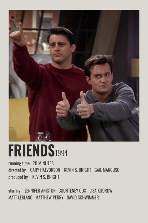FRIENDS POLAROID POSTER