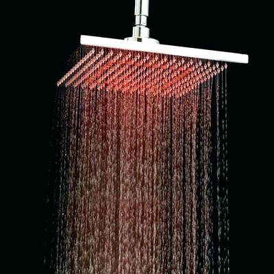 Shower Head Multicolor Led Led Shower Head Color Changing Led Rain Shower System