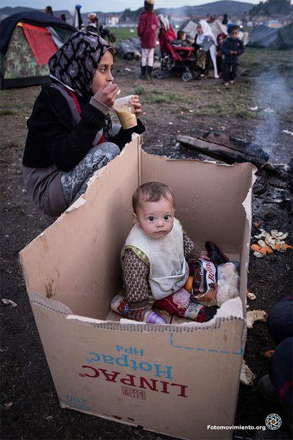 Siria - campo de refugiado