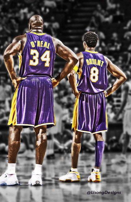 "$9.99 AUD - 101 Kobe Bryant - La Lakers Nba Mvp Shaq Art 24""X37"" Poster #ebay #Collectibles"