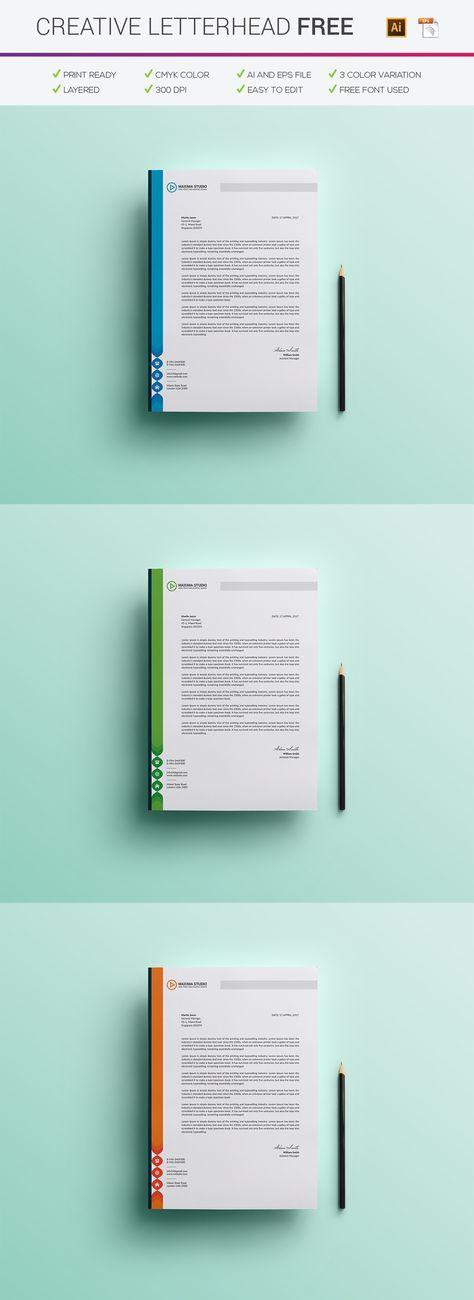 Company Letterhead Pad Sample letter pad