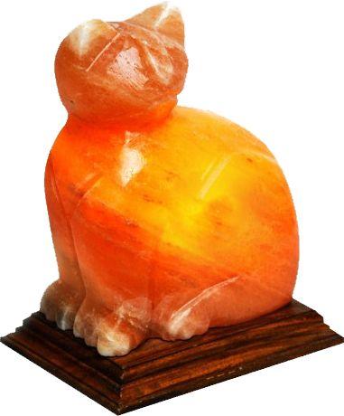 Cat Himalayan Salt Lamp | Himalayan