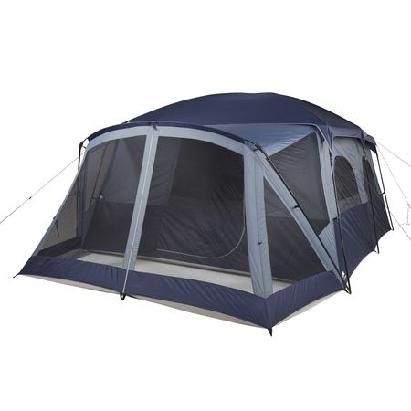 Ozark Trail 12 Person Cabin Tent With Screen Porch And 2 Entrances Walmart Com Cabin Tent Canopy Tent Outdoor 12 Person Tent