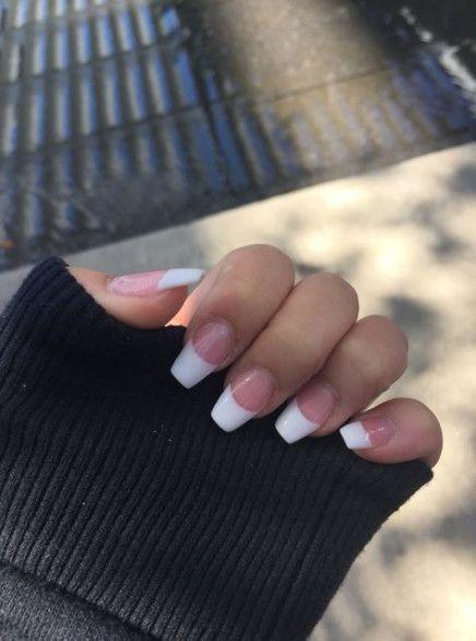 Nails Acrylic White Style 46 Best Ideas French Tip Acrylic Nails White Tip Nails White Acrylic Nails