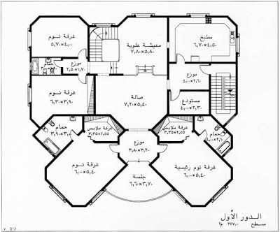 تصميم يناسب الذوق السعودي مخطط فلل سعودية تصاميم داخلية فلل خرائط فلل خليجية فلل منتديات ستوب Model House Plan Family House Plans Floor Plan Design