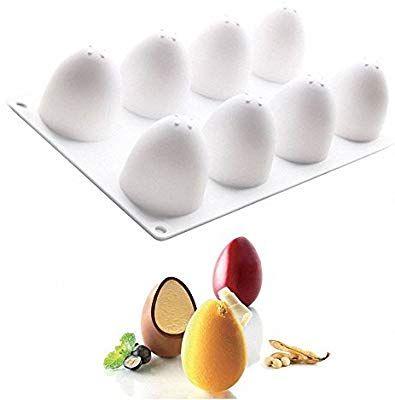Amazoncom 3d Easter Egg Baking Mold Moldfun Easter Egg