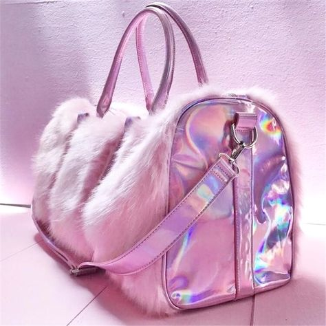 My Bags, Purses And Bags, Cute Purses, Fashion Bags, Fashion Backpack, Travel Fashion, Trendy Fashion, Bunny Bags, Fur Bag