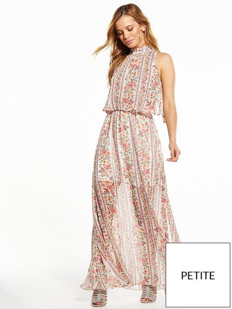 f1788fcf8d84 V by Very Petite Tiered Woven Maxi Dress Petite girls can still embrace the  maxi trend with this dreamy dress from the V by Very Petite collection!