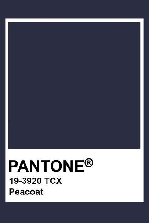 Pantone Peacoat