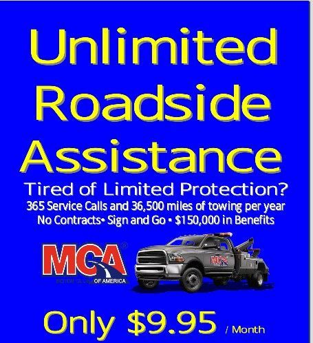 Tired of limited roadside assistance? Don't get stuck out