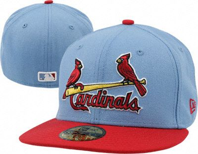 St. Louis Cardinals Light Blue Retro Cooperstown Fitted Hat  62d2663b1f0