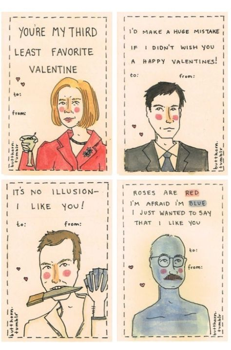 Arrested Development valentines cards